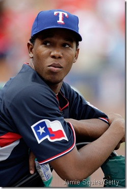 Neftali Feliz at -- appropriately -- the Futures Game