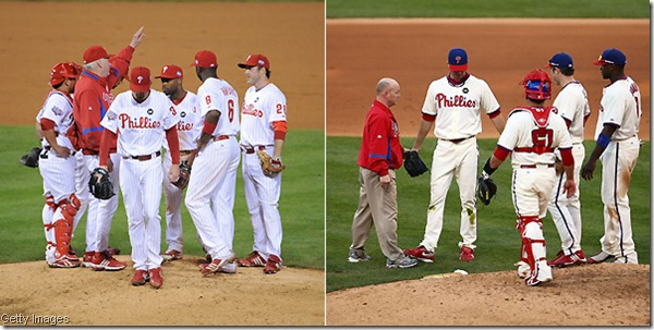 Hamels on the left, Happ on the right -- do you trust either one of these men for a Game 7 right now?