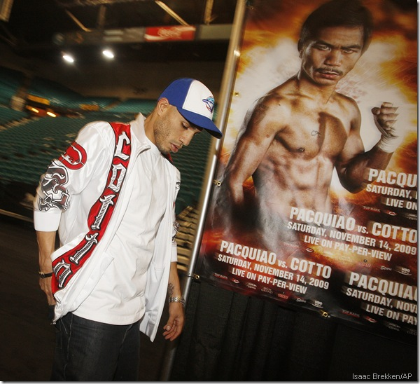 Living in the shadow of The Great Pacquiao