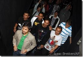 Manny Pacquiao never walks alone