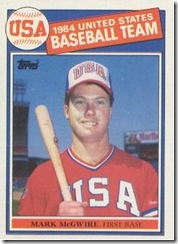 Rivaled by the 1983 Topps Traded Strawberry and the 1986 Donruss Rated Rookie Canseco for sheer cool factor
