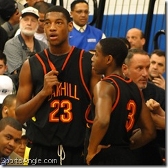 Juwan Staten (No. 3) on his way to Dayton