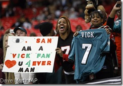 They love them some Vick