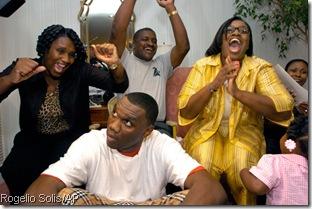 Big Al's draft party
