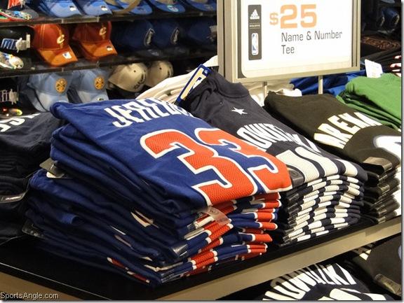 Lots of these Jerebko shirts left