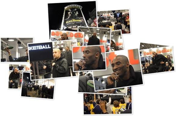 View Kobe Bryant, Foot Locker NYC, 2-11-11