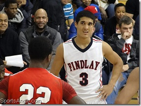 Nick Johnson of Findlay Prep