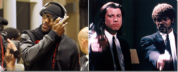 Royale with cheese, LeBron?